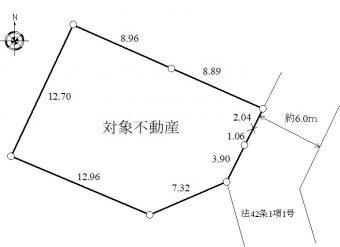 稲村ケ崎5丁目区画図